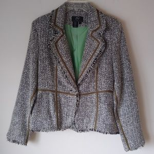 True Meaning Tweed Blazer